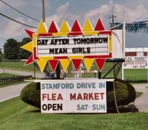 Stanford Drive-In marquee