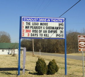 Stardust Drive-In marquee