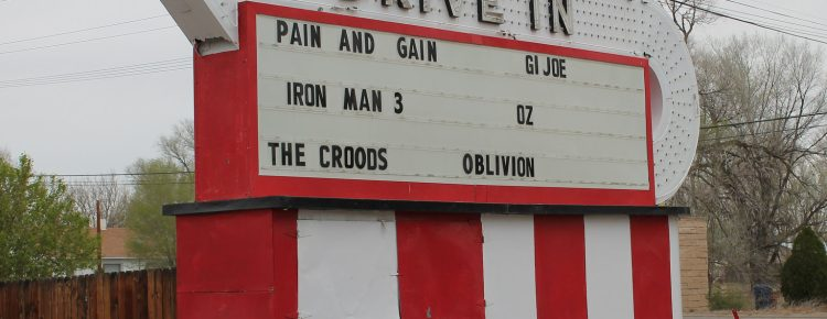 Mesa Drive-In marquee