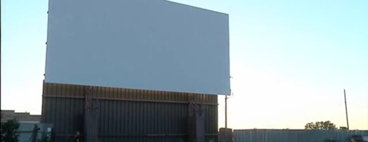 Milton-Freewater Drive-In screen