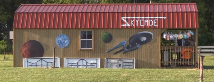 Skycade arcade at the Skyline Drive-In