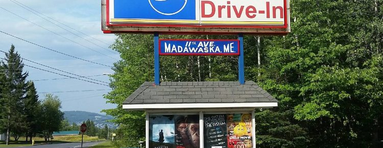 """Skylite Drive-In movie poster """"marquee"""""""