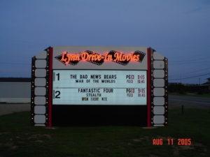 Lynn Drive-In marquee