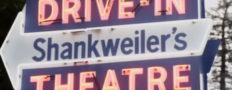 Shankweiler's Drive-In neon sign