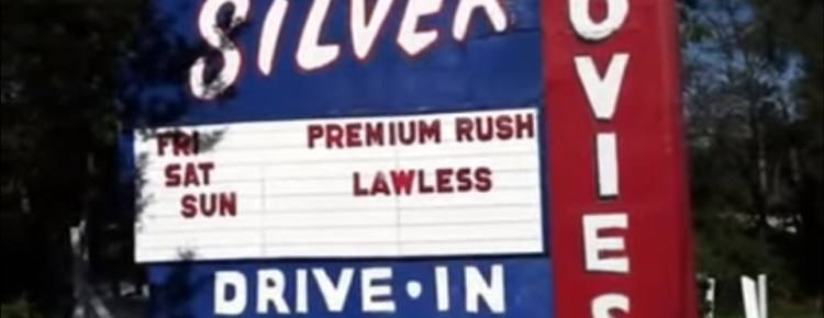 Silver Drive-In marquee