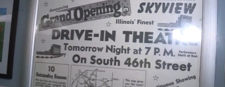 Old newspaper Grand Opening advertisement