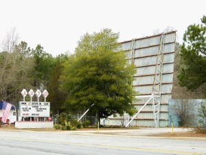 The 25 Auto Drive-In in Greenwood SC.