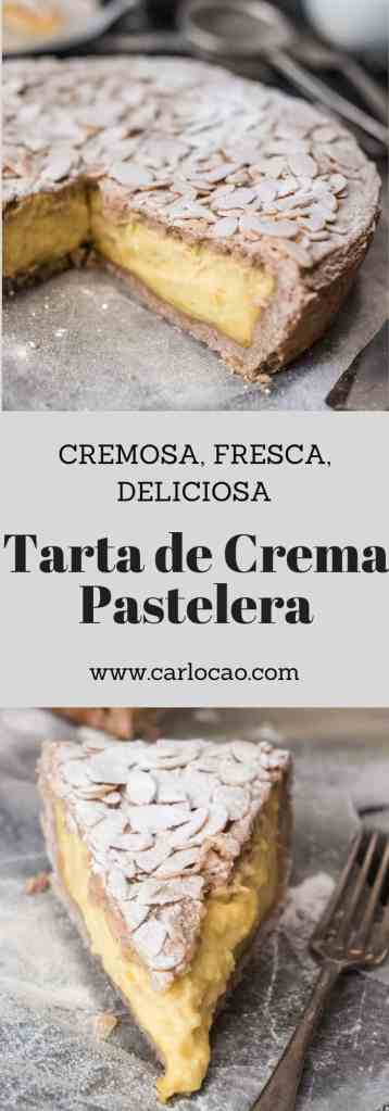Tarta de Crema Pastelera (Torta della Nonna)