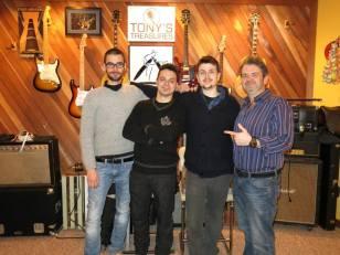 Tony Treasure Studio, Ohio - 2014