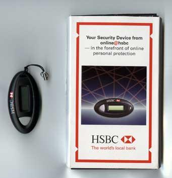 HSBC Hong Kong Security Device