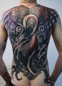 tribal dragon back piece1
