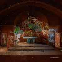 Iglesia abandonada en El Alamin