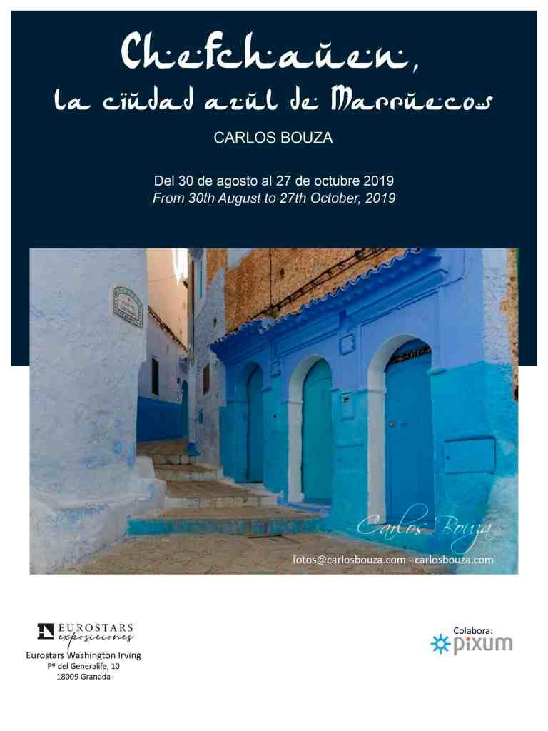 Cartel Chefchauen, la ciudad azul de Marruecos en Granada