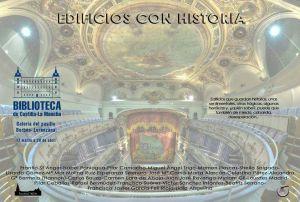 Cartel exposición Edificios con historia