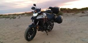 Foto de mi Honda CB500X