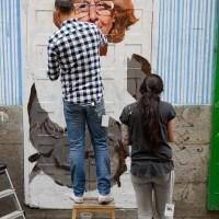 Retrato de Manuela Carmena, alcadesa de Madrid, en un cierre