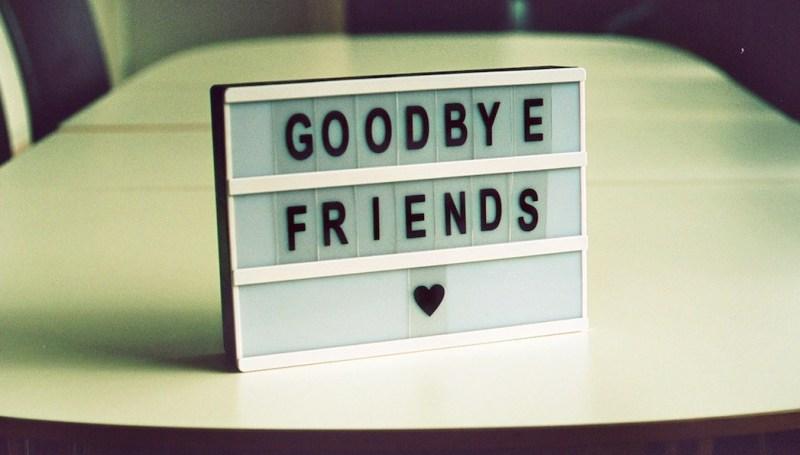 despedida de amigos