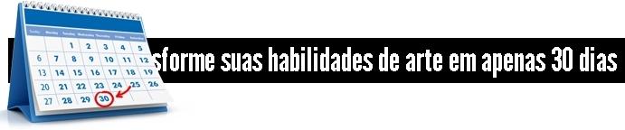 TRANSFORME SUAS HABILIDADES DE ARTE EM 30 DIAS
