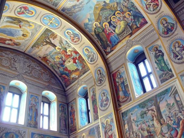 San Mykhailovsky. Iconos