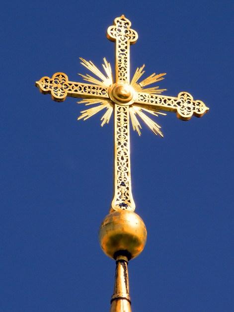 KIEV - Cruz Cúpula Santa Sofia