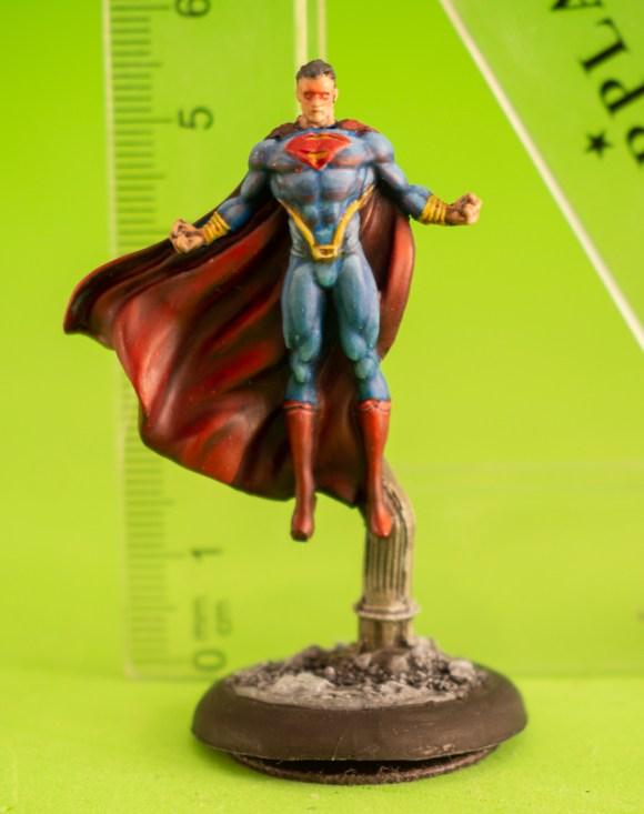 Miniaturas con medidas para escala. Lightpainting con miniaturas.
