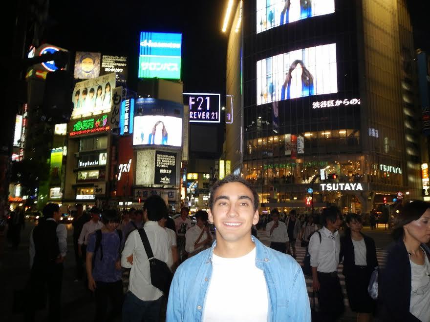 El famoso cruce de Shibuya en Tokio
