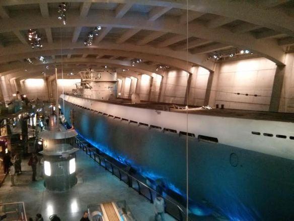 Submarino nuclear - Museo de ciencia de Chicago