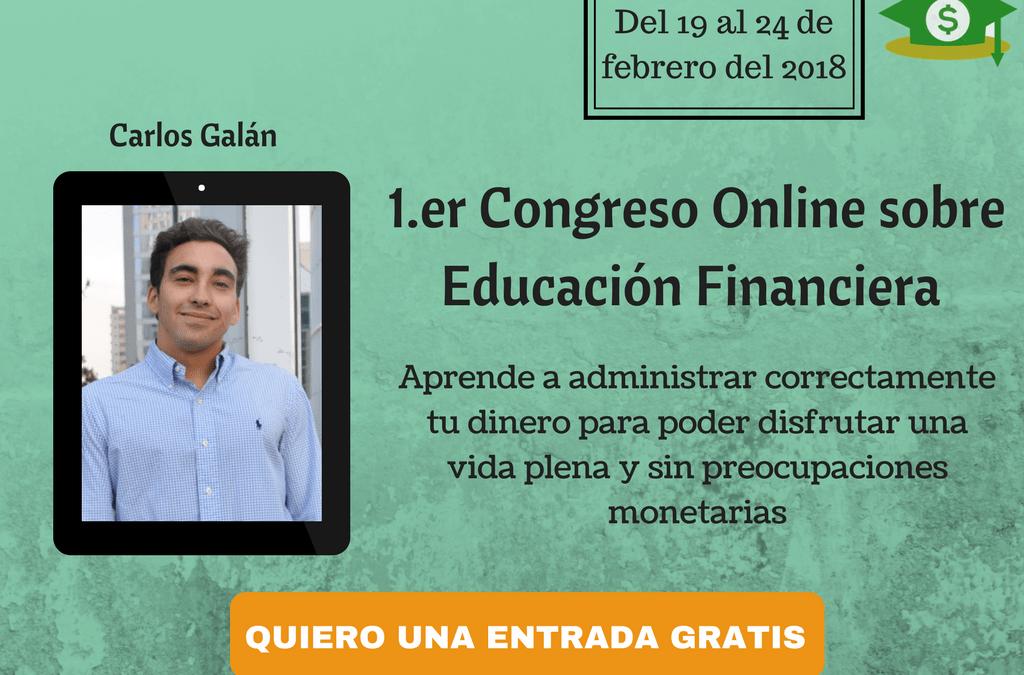 Empieza el congreso online sobre educación financiera ;)