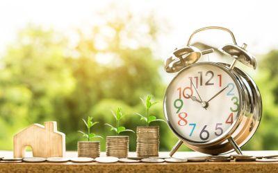 "(3/6) La importancia de invertir periódicamente (""Dollar cost averaging""):"