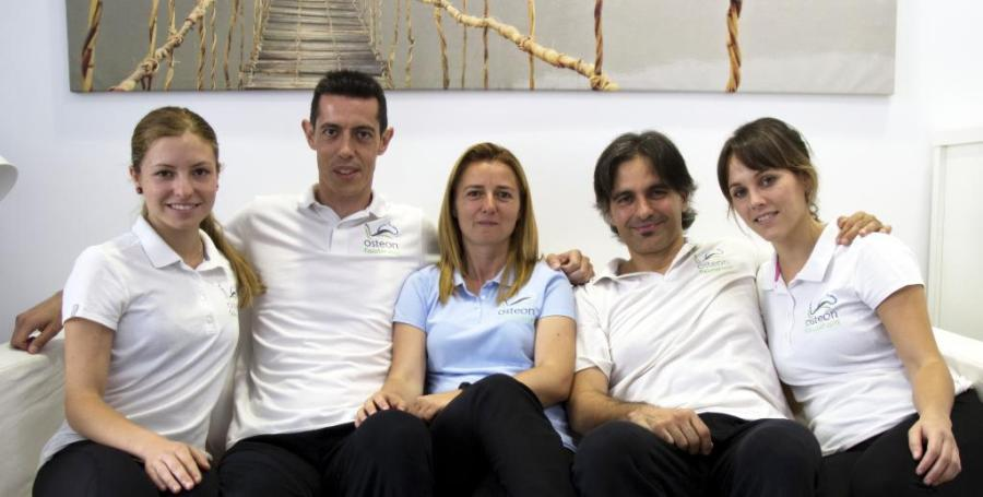 equipo de fisioterapeutas de osteon Alaquàs Valencia