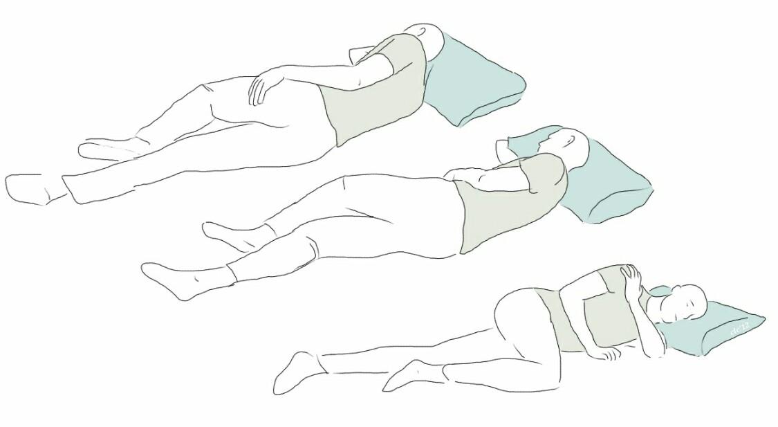 Dolor de hombro por la noche (II)