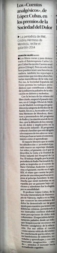 Cuentos Analgésicos El Levante EMV 101014