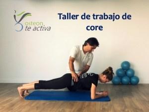 taller core fuerza abdominal entrenamiento