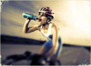 agua hidratación deporte fisioterapia