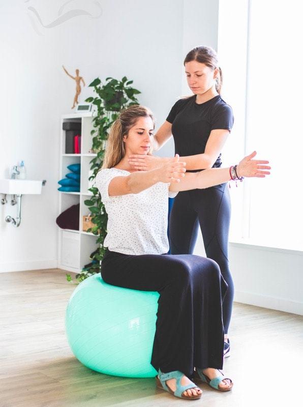 sesion fisioterapia