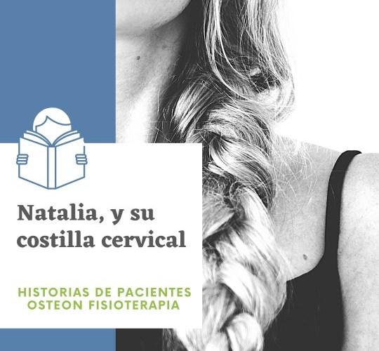 Natalia y su costilla cervical