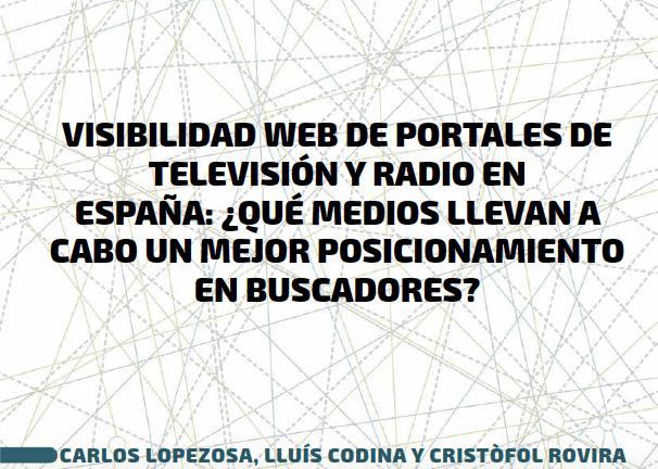 seo en radio y televisión en españa