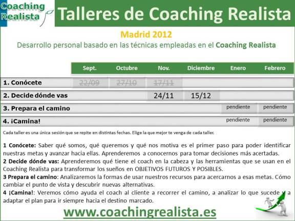 Talleres para aprender a ser tu propio coach