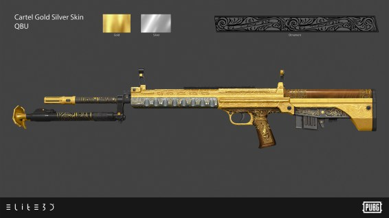 PUBG_Weapon-Skins-Cartel-Gold-Silver_QBU_Final