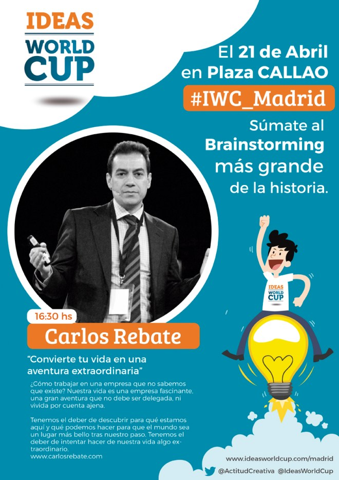Ideas world cup Carlos Rebate