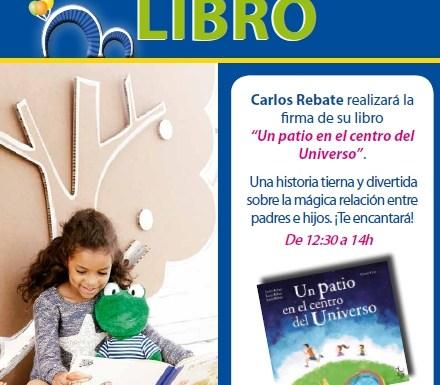 ¡El sábado 28 en Imaginarium (Moraleja Green) y el domingo 29 en la Feria del Libro de Madrid!