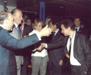 Carlos Rebate con SSMM Juan Carlos I
