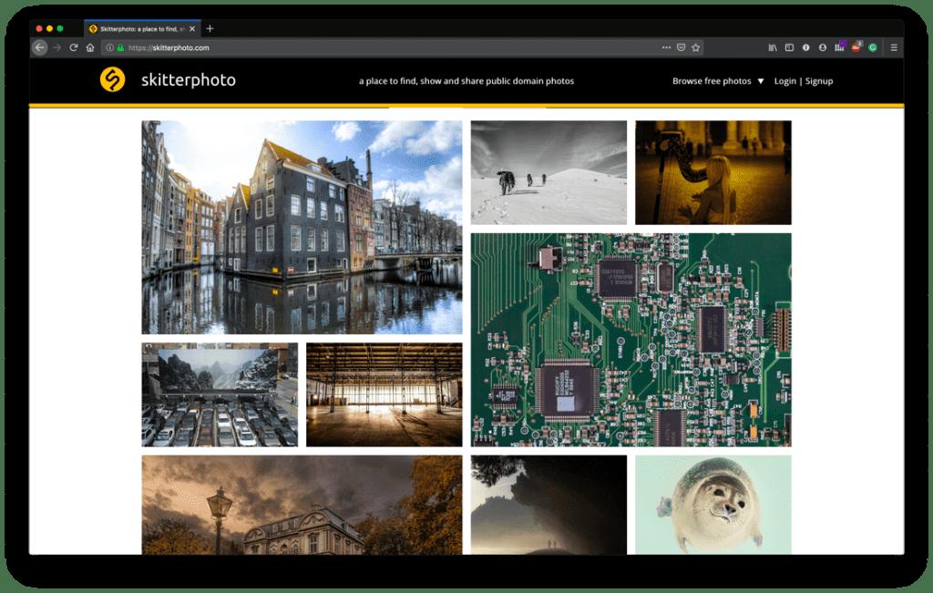 Top Free Stock Photo Sites - SkitterPhoto