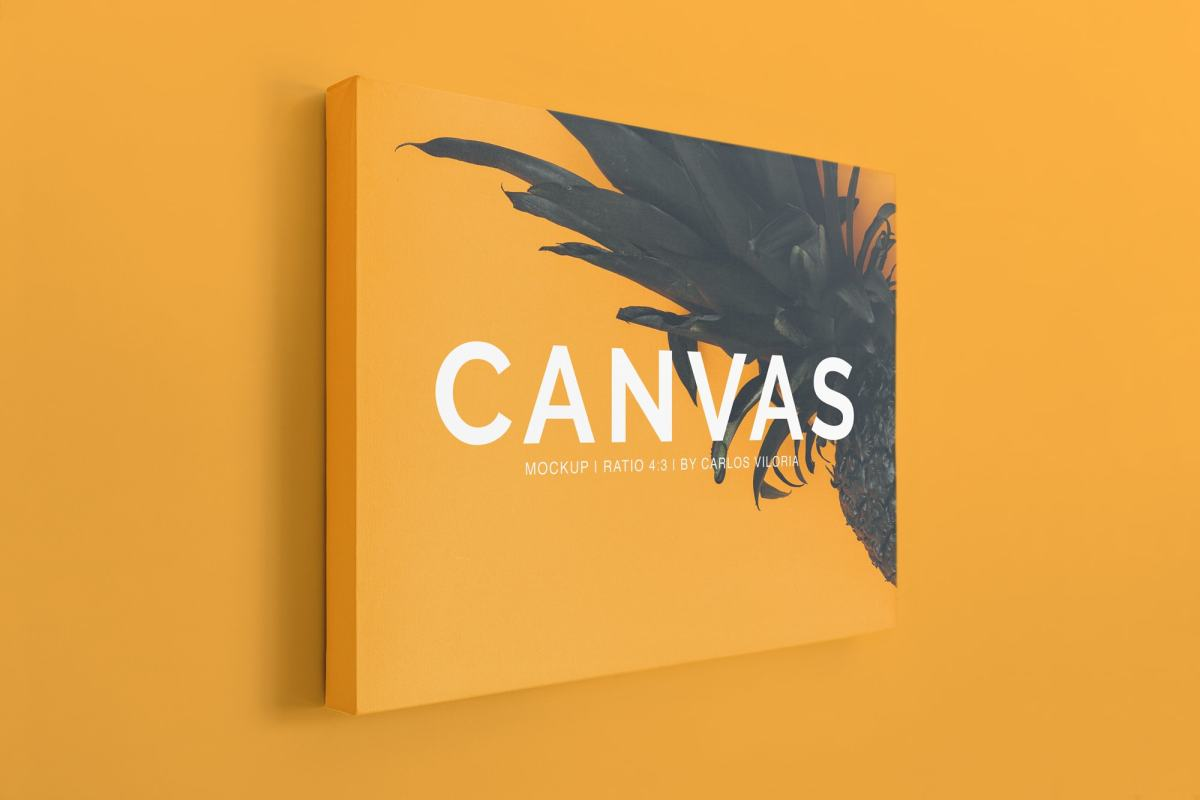 Canvas Ratio 4x3 Mockup 04