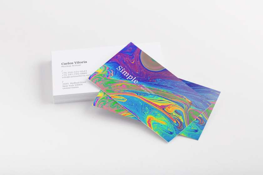 Business Cards Mockup 03