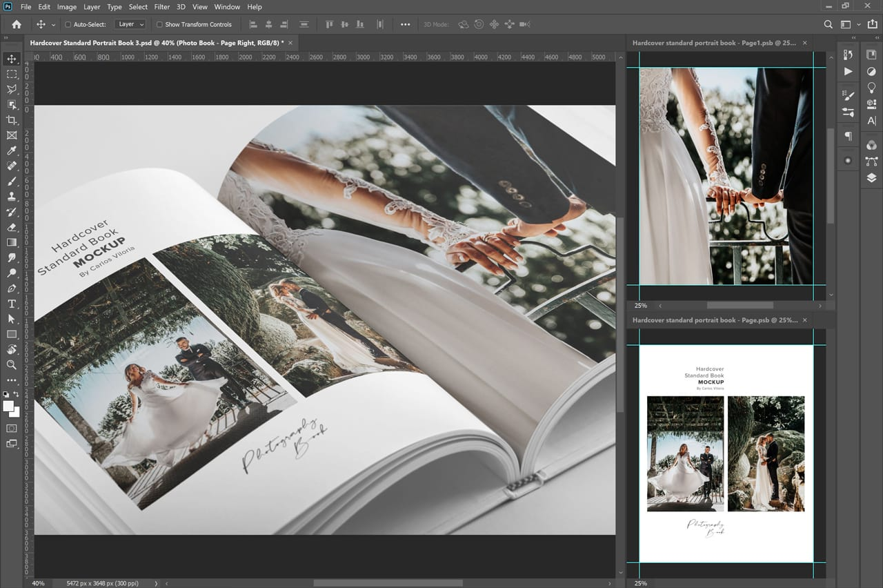 Photo Book Mockup