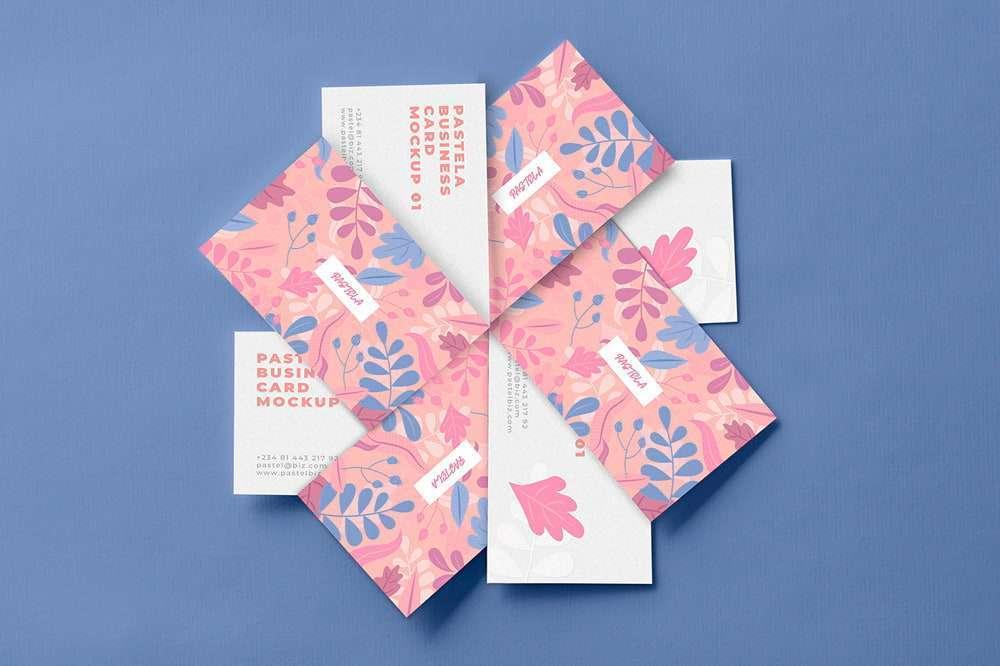 Freebie Business Card Mockup Pack