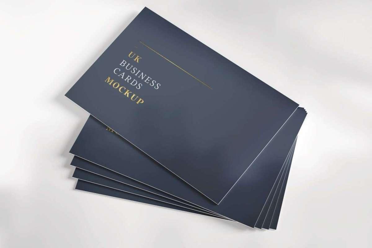 Visiting Card Mockup 02