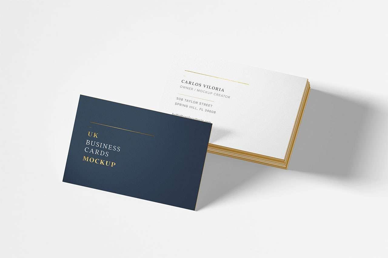 Simple UK Card Mockup