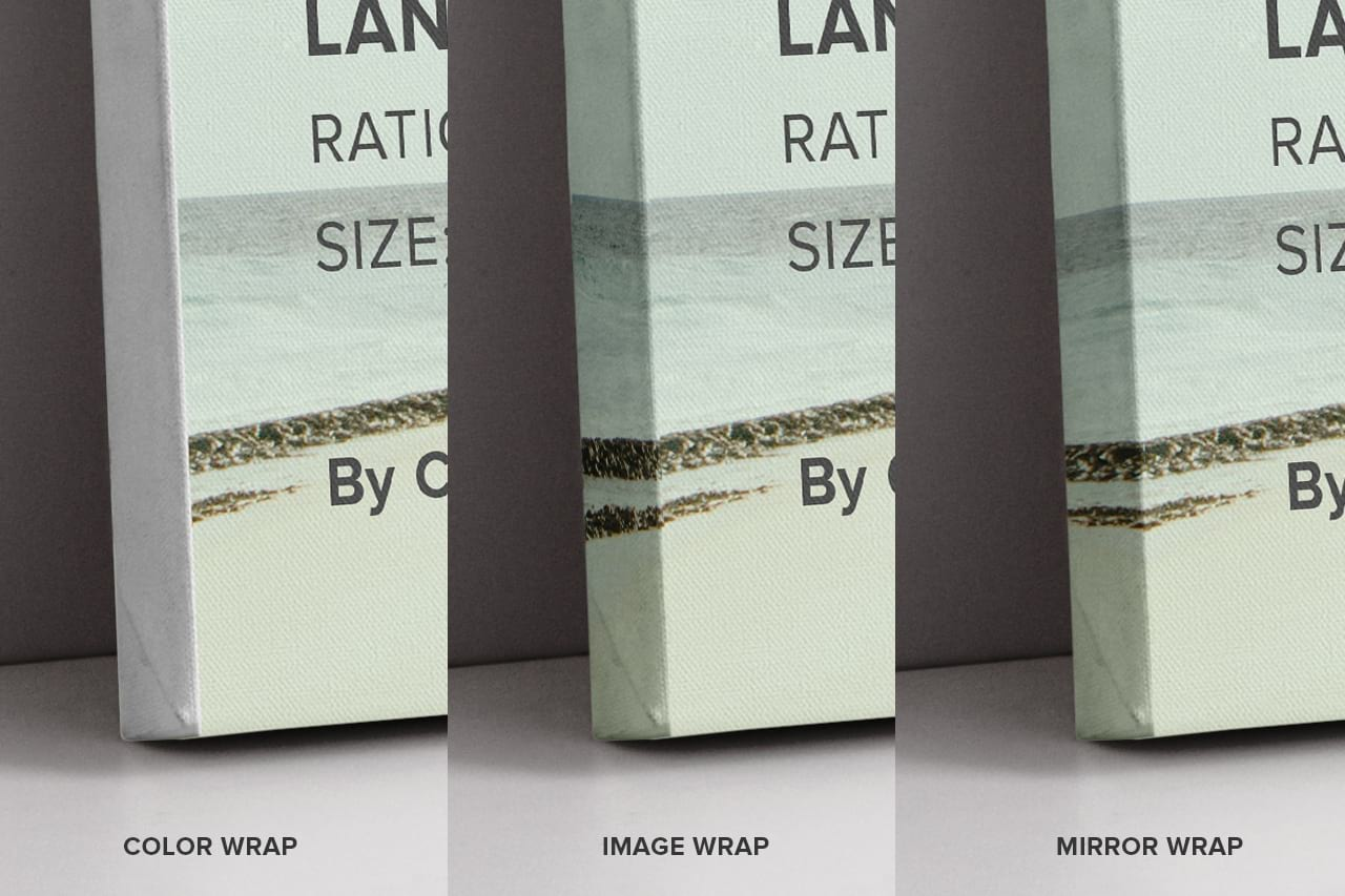 Wraps Landscape Canvas Ratio 3x2 Mockup